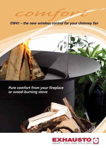 Pure comfort from your fireplace or wood-burning - Nonfumo Flue ...
