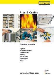 Katalog Arts & Crafts - Nabertherm GmbH