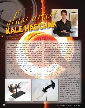 KALE HASCHAK - Mendocino Art Center
