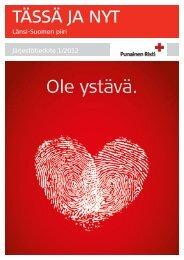 Tässä ja Nyt 1/2012 - RedNet - Punainen Risti