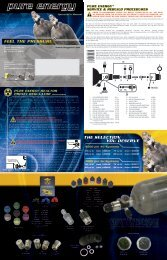 PURE ENERGY REACTOR PRESET ... - Paintball Advisor