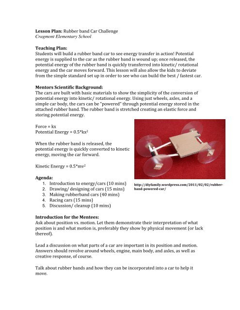 Rubberband Car Challenge pdf - BEAM