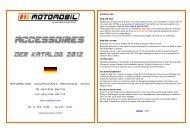 weiter >>> - Motomobil GmbH