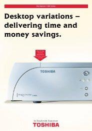 The Equium 7100 Series - Toshiba