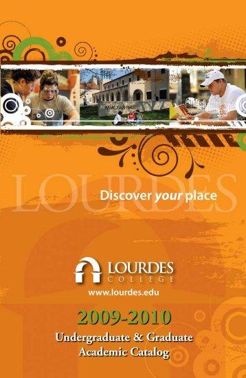 2009–2010 Catalog - Lourdes College