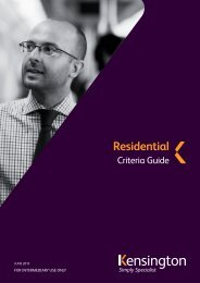 Residential Criteria Guide - Legal & General
