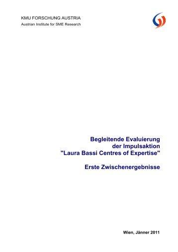 Laura Bassi Centres of Expertise - Bundesministerium für Wirtschaft ...
