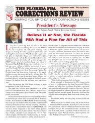 Corrections Review 07-2004 - Florida Police Benevolent Association