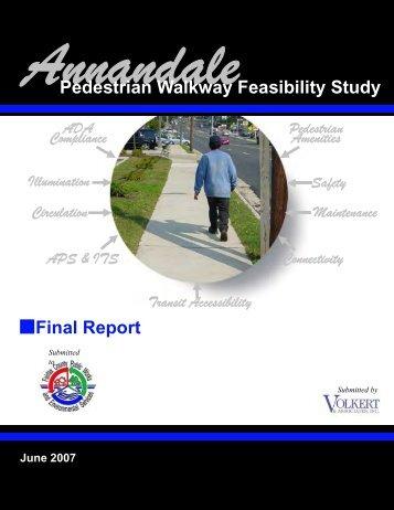 Annandale Pedestrian Walkway Feasibility Study