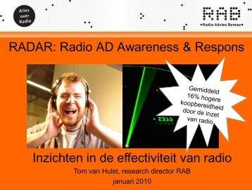 RAB RADAR presentatie