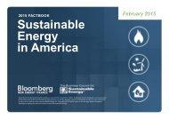 2015 Sustainable Energy in America Factbook