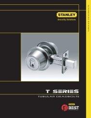 Tubular deadbolts - Best Access Systems