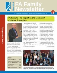 Family Newsletter #53 - Fanconi Anemia Research Fund