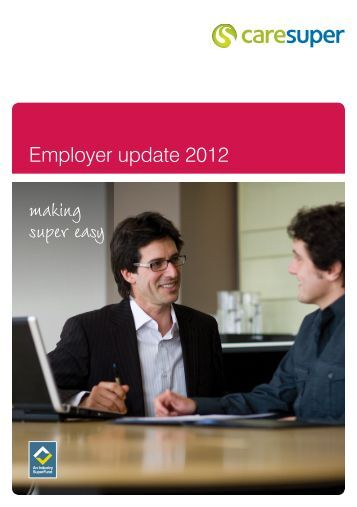 Download PDF - CareSuper