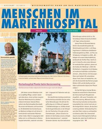 AUF EIN WORT - Marienhospital Darmstadt