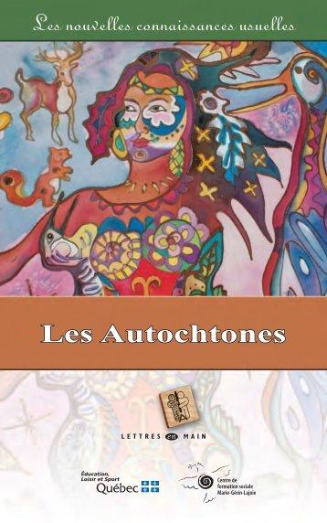 Les Autochtones par Gilles Landry et Isabelle Picard (2010) (PDF)