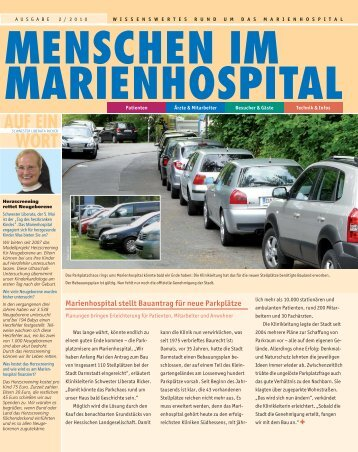 AUF EIN WORT - Marienhospital