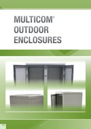 MULTICOM® OUTDOOR ENCLOSURES - Eldon