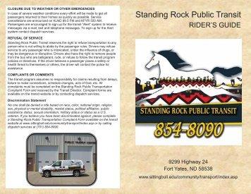Standing Rock Public Transit - Sitting Bull College