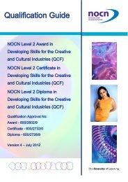 Level 2 Qualification Guide - OCN Eastern Region