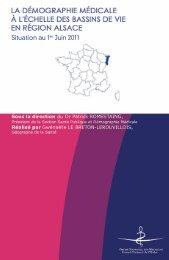 Atlas 2011 de la région Alsace - Conseil National de l'Ordre des ...