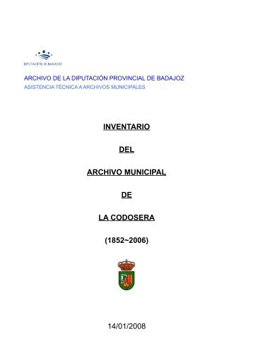 La Codosera - Diputación de Badajoz