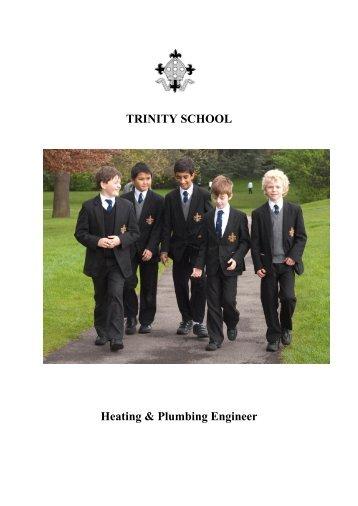 TRINITY SCHOOL Heating & Plumbing Engineer