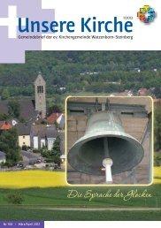 Unsere Kirche 1/2012 März bis April - Evangelische ...