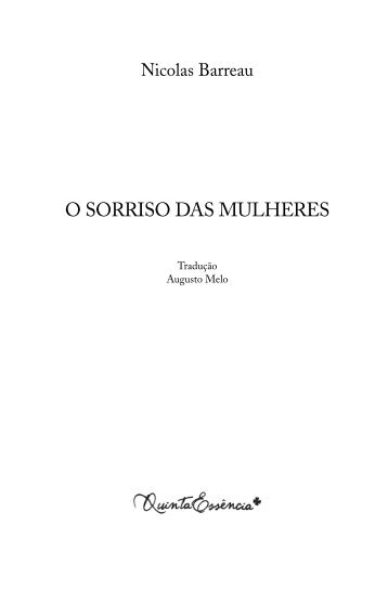 DAS MULHERES - Recursos.portoeditora.pt