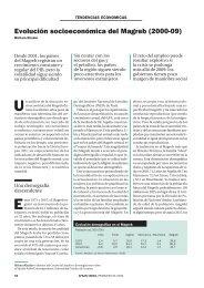 Evolución socioeconómica del Magreb - Nodo 50
