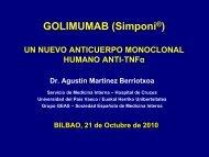 Golimumab - EXTRANET - Hospital Universitario Cruces