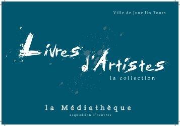 catalogue Â« Livres d'Artistes - AAAR