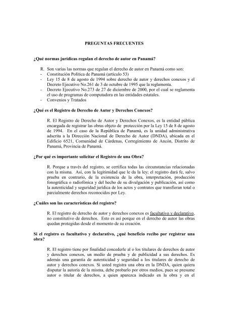 PREGUNTAS FRECUENTES ¿Qué normas jurídicas ... - Meduca