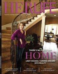 THERE'S NO PLACE LIKE - HER LIFE Magazine