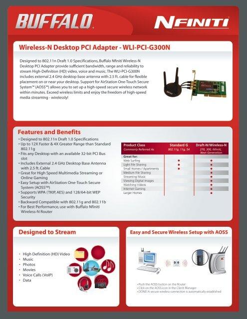 BUFFALO WLI-PCI-G300N WINDOWS 8 X64 DRIVER DOWNLOAD