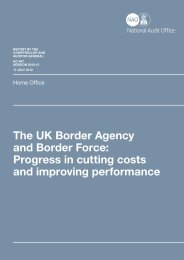 Full report (pdf - 600KB) - National Audit Office