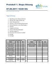 Protokoll 1. Stupa Sitzung 07.06.2011 18:00 Uhr - KeinDrama