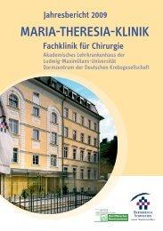 Jahresbericht 2009 - Maria-Theresia-Klinik