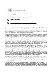 de bernardinis stampa - Policlinico di Modena