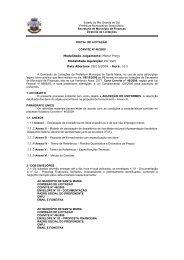 Estado do Rio Grande do Sul - Prefeitura Municipal de Santa Maria
