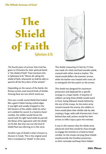 The Shield of Faith - Bible Witness