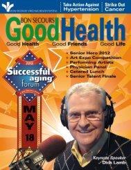 Pdf version of Magazine - Bon Secours Senior Health