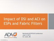 Dry Sorbent Injection101 - ADA-ES, Inc.
