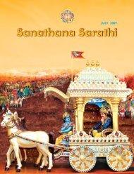 JULY 2009 - Sri Sathya Sai Books & Publication Trust