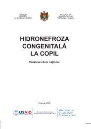 HIDRONEFROZA CONGENITALĂ LA COPIL - Ministerul Sănătăţii