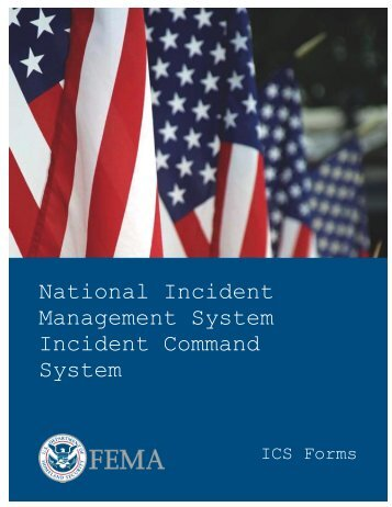 ICS Forms - West Virginia Division of Homeland Security