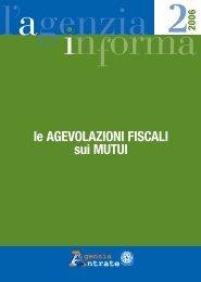 Le agevolazioni fiscali sui mutui - Cafindustria