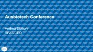 Andrea Slattery - Ausbiotech National Conference