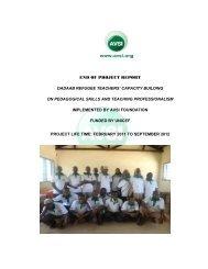Project Closure Report Template - Avsi