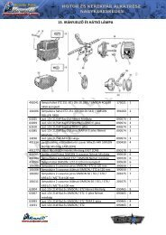 13. IRÁNYJELZŐ ÉS HÁTSÓ LÁMPA - Moped 91